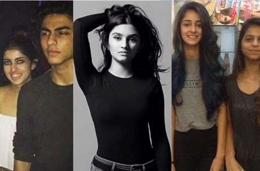 B-Town Kids Navya Nanda, Alaviaa Jaaferi, Ananya Pandey Flock to Aryan Khan's Party!