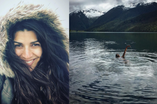 When Nimrat Kaur Dives in the Freezing Waters in Canada!