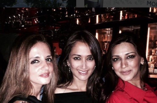 Sussanne Khan and Sonali Bendre Party in London