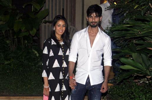 Shahid Kapoor Pampers Mommy-To-Be Mira Rajput