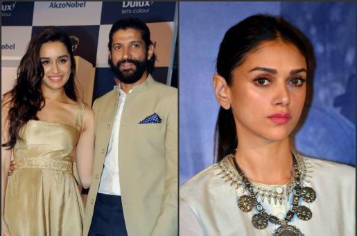 Is Aditi Rao Hydari Upset With Farhan Akhtar?