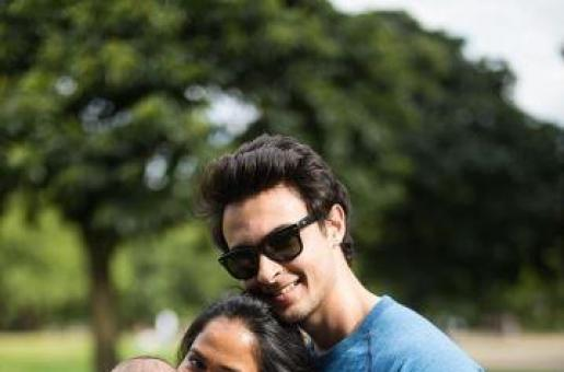 PICTURE PERFECT: Arpita, Aayush and Baby Ahil Enjoy Their Holiday