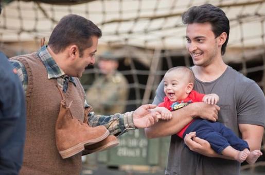 SUPER CUTE: Salman Khan Poses With Nephew Ahil
