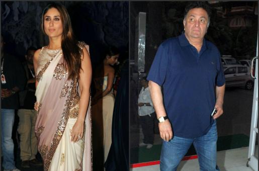 Kareena Kapoor Khan Reacts to Uncle Rishi Kapoor's Media Brawl
