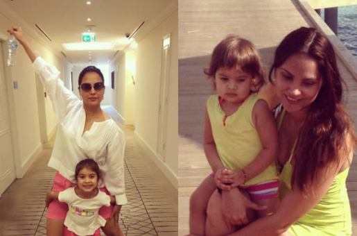 SUPER CUTE: Lara Dutta is Twinning with her Daughter