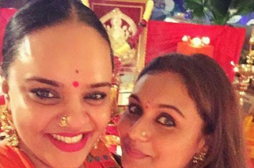 Rani Mukerji's Diwali Is All About Looking Festive