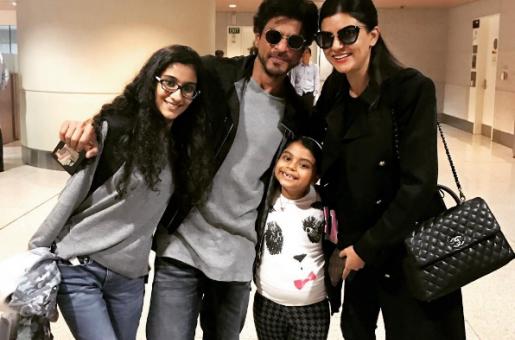 Shah Rukh Khan And Sushmita Sen Reunite at the Airport
