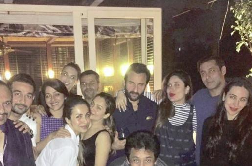 Guess Who We Spotted Partying With Kareena Kapoor Khan, Saif Ali Khan And Salman Khan?
