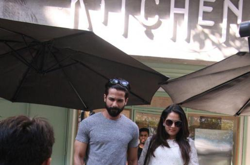 SPOTTED: Shahid Kapoor and Mira Rajput Out On a Date