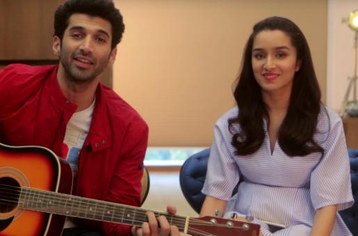 Shraddha Kapoor and Aditya Roy Kapur Join In The Festive Spirit for 'OK Jaanu'
