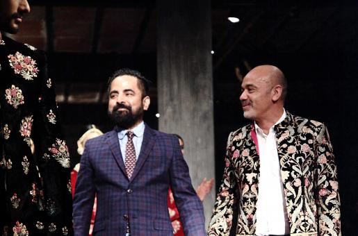 Christian Louboutin and Sabyasachi Mukherjee's Exotically Stunning Collaboration