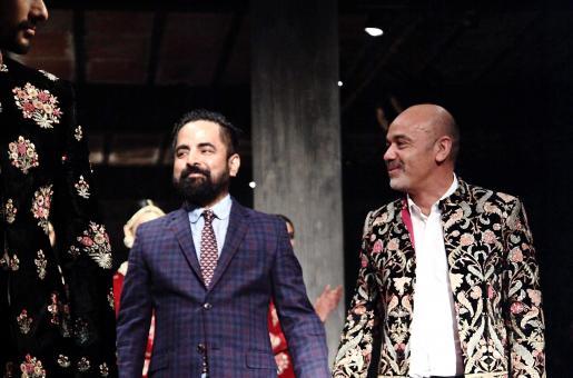 Christian Louboutin and Sabyasachi Mukherjee's Exotically Stunning Collaboration