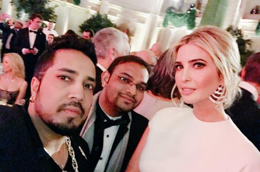 Mika Singh Spotted at Donald Trump's Pre-Inauguration Dinner!