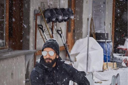 Ranveer Singh is holidaying in Switzerland!