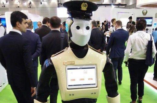 See Dubai Police's first police robot!