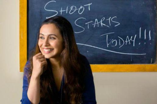 Rani Mukerji starts shooting for Hichki