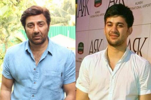 Pic: Sunny Deol Gets Emotional on Son's First Day of Shoot