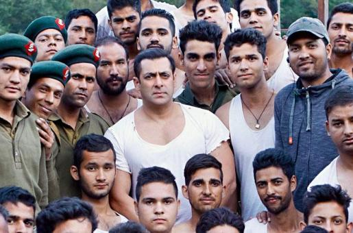 Wow! The Indian Army Trained 600 Actors for Tubelight