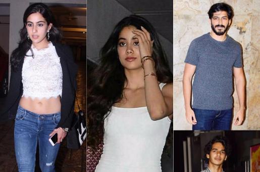Hot New Couples? Ishaan Khattar-Jhanvi Kapoor and Sara Ali Khan-Harshvardhan Kapoor
