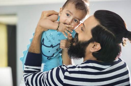 Awww So Cute! Riteish and Genelia's Son Rahyl Turns One