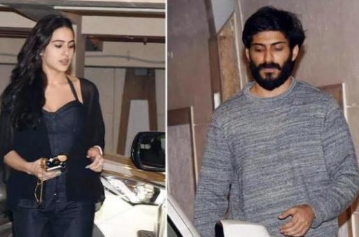 IN PICS: Rumoured Couple Sara Ali Khan and Harshvardhan Kapoor Spotted