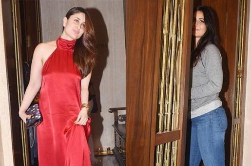 Kareena Kapoor and Katrina Kaif Attend a Party Together!