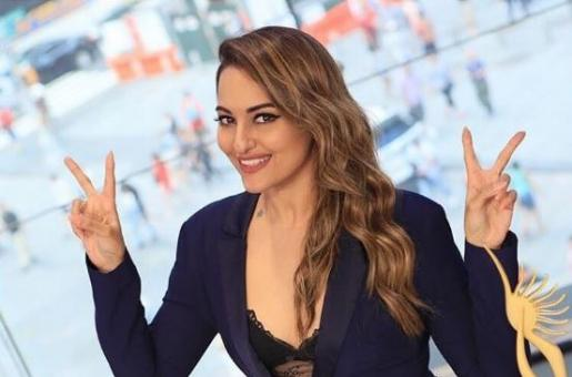 Watch: Sonakshi Sinha Rings The Nasdaq Bell At Times Square