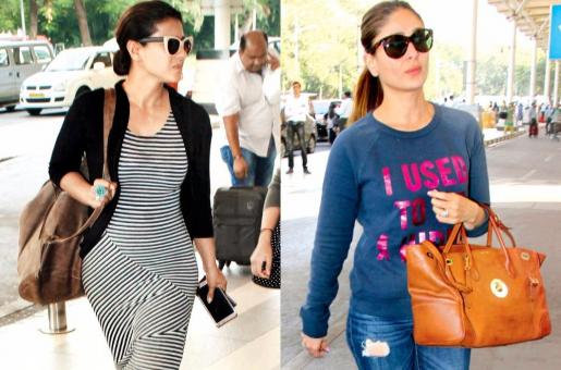Kareena Kapoor And Kajol Trash The Attention Given To Airport Looks