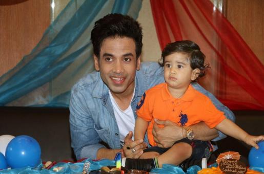 PICS: Tusshar Kapoor's Son, Laksshya Begins Pre-School