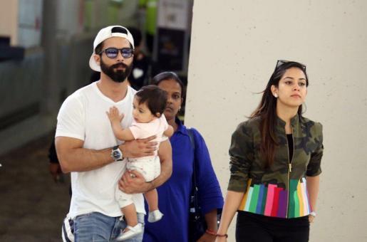 Cuteness Alert: Candid Pics of Shahid Kapoor's Baby Misha
