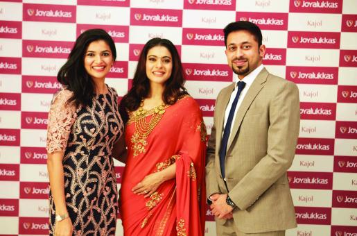 Joyalukkas Signs Kajol as Brand Ambassador