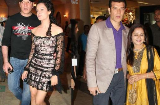 Aditya Pancholi and Zarina Wahab Watch Kangana Ranaut's Simran