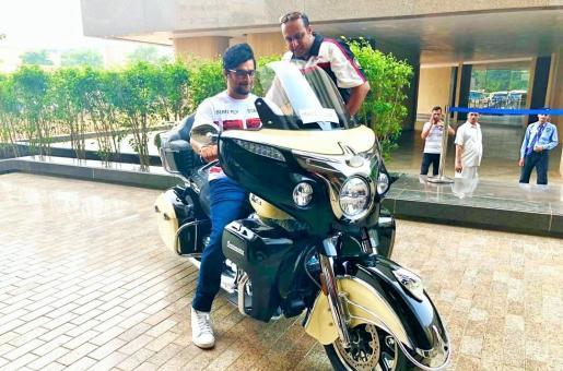 Wow! Did You See Madhavan's Hot Bike?