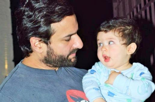 Saif Ali Khan and Baby Taimur's Adorable Picture Will Melt Your Heart