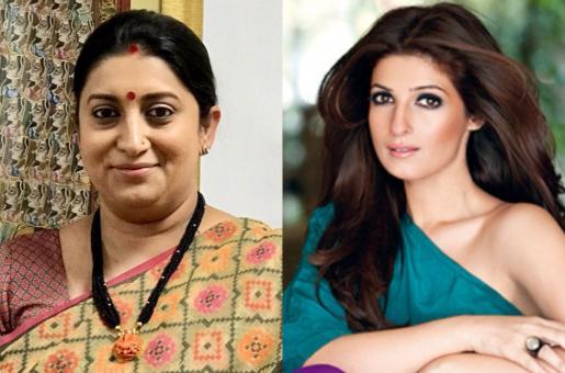 PICS: Smriti Irani Fully Supports Twinkle Khanna's Upcoming Film PadMan