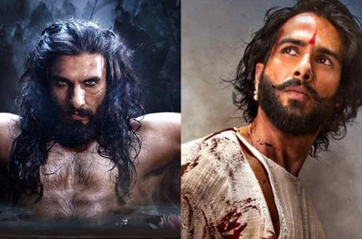 Here's How Shahid Kapoor and Ranveer Singh Transformed For Padmaavat