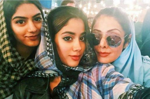 RIP Sridevi: Daughters Jhanvi and Khushi are Inconsolable