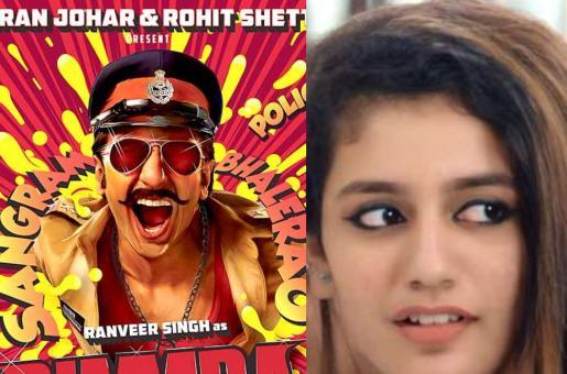 OMG! Priya Prakash Varrier to Star Opposite Ranveer Singh in Simmba?