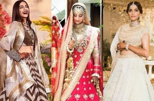 Sonam Kapoor's Wedding Wardrobe Decoded!