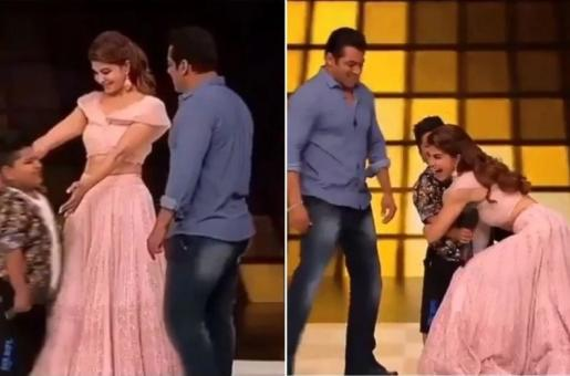 No Jacqueline Fernandez and Salman Khan, It's Not Alright to Hug a Child Without His Consent!