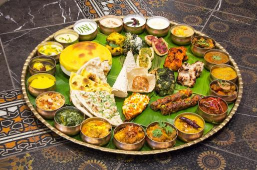 35 Dishes and 13 Kilos; All About 'The Largest Thali' on Palm Jumeirah Dubai