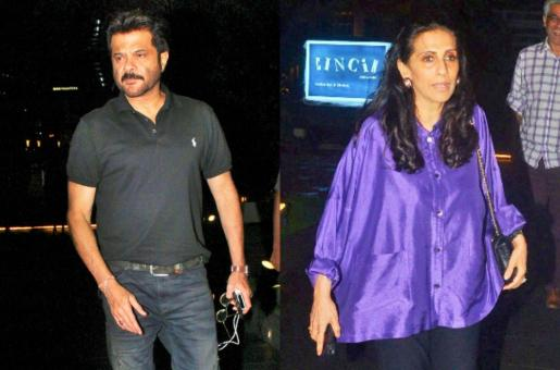 In Pics: Anil Kapoor Treats the 'Love of His Life' Sunita Kapoor On a Dinner Date!