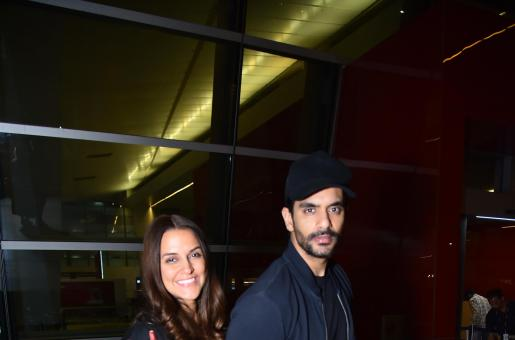 Angad Bedi on Wife Neha Dhupia: 'She Has Brought Good Vibes into My Life'