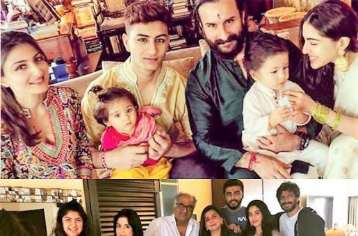 How Raksha Bandhan Brought Boney Kapoor's and Saif Ali Khan's Children Together