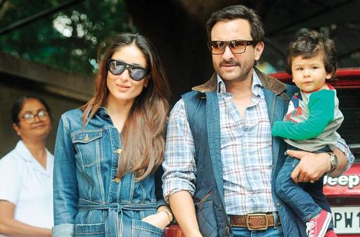 Oops! Saif Ali Khan has BANNED Photographers from Coming Near Taimur