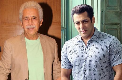 'People Shouldn't End up Seeing Only Salman Khan Films 200 Years Later': Naseeruddin Shah
