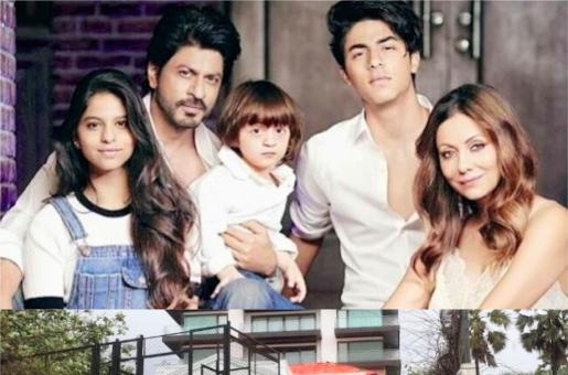 THIS is How Shah Rukh Khan's House Mannat is Preparing For his 53rd Birthday