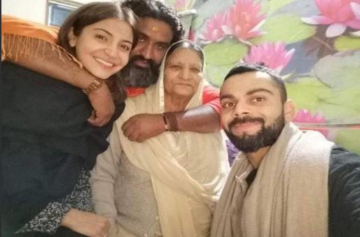 Who is This Man With Virat Kohli and Anushka Sharma?