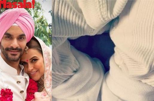 Neha Dhupia, Angad Bedi Reveal Their New-born Baby's Name