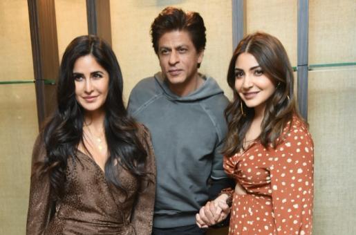 Zero Promotions: Shah Rukh Khan, Anushka Sharma and Katrina Kaif Promote Their Upcoming Film In Style